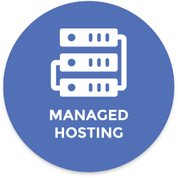 Managed website hosting