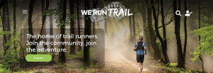 Wordpress website design for We Run Trail