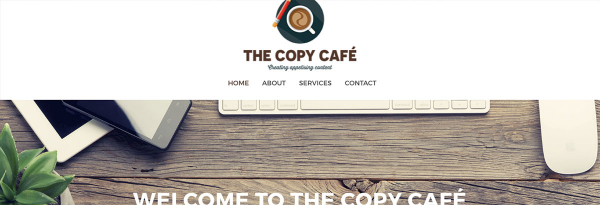 Website build for The Copy Cafe