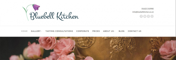 Bluebell Kitchen Wordpress website update
