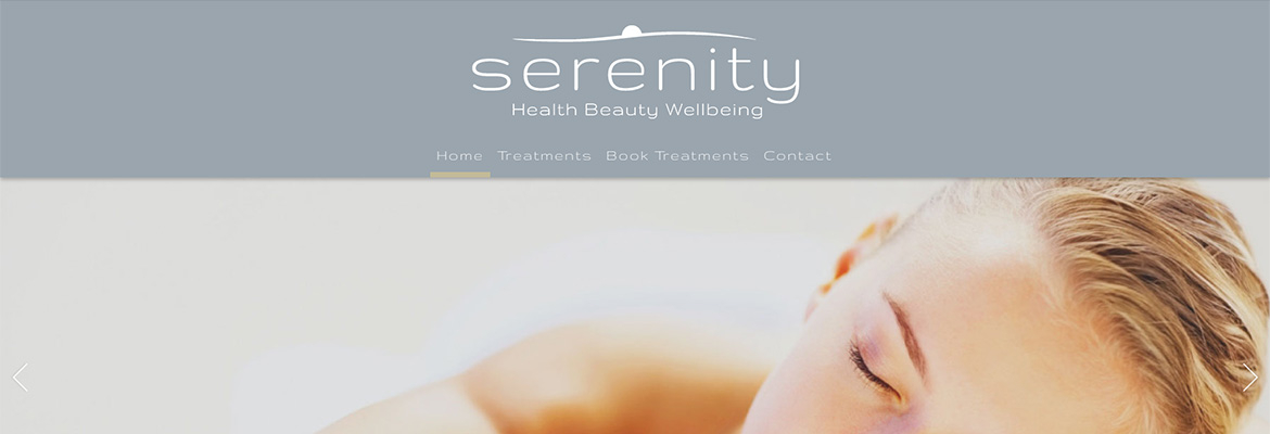 Bespoke web design build for Health & Beauty Spa